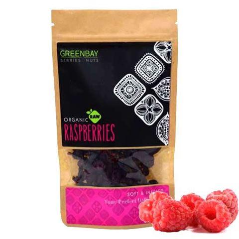 Greenbay Σμέουρα (Raspberries) Raw αποξηραμένα 125γρ