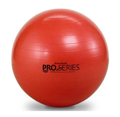TheraBand Pilates Ball Red Διάμετρος 18 cm