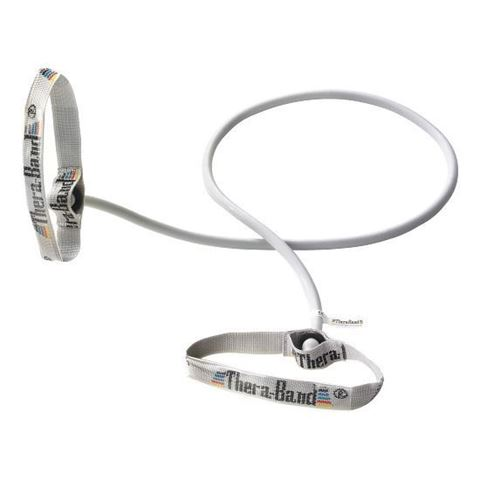 TheraBand Professional Super Heavy with Flexible Handles / Silver (4.64kg Αντίσταση)