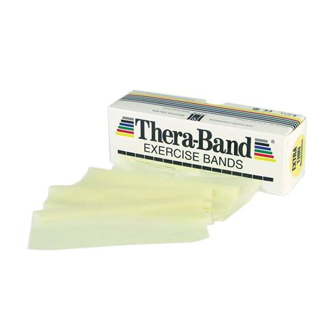 TheraBand Professional Resistance Bands 5,50m Λάτεχ Μπεζ/Extra Thin (1.09kg)