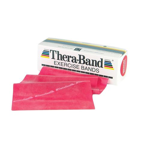 TheraBand Professional Resistance Bands 5,50m Λάτεξ Κόκκινο/Medium (1.68kg)
