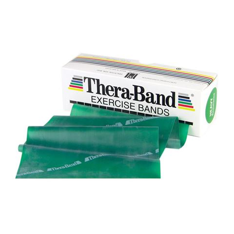 TheraBand Professional Resistance Bands 5,50m Λάτεξ Πράσινο/Heavy (2.09kg)