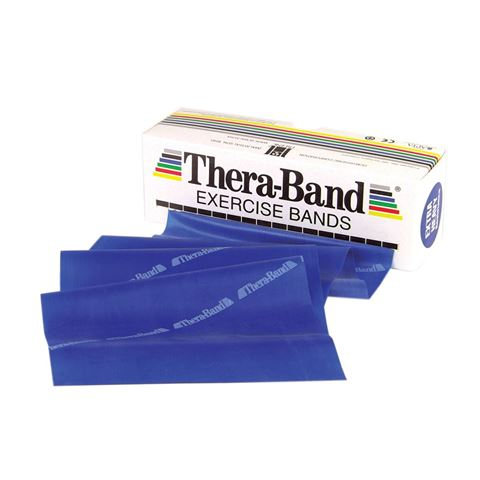 TheraBand Professional Resistance Bands 5,50m Λάτεξ Μπλε/Extra Heavy (2.64kg)