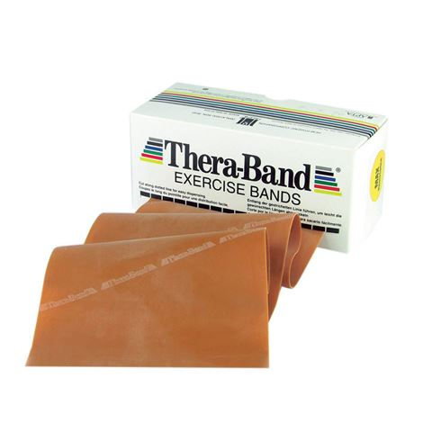 TheraBand Professional Resistance Bands 5,50m Λάτεξ Χρυσό/Max (6.45kg)
