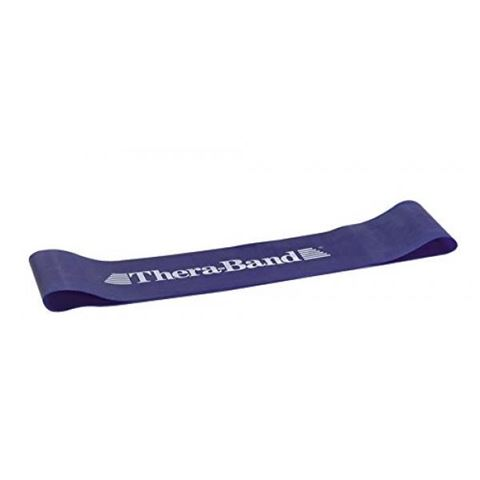 TheraBand Professional Resistance Mini Band, Θηλιά Extra Heavy / Blue 7,6 x 45,5 cm