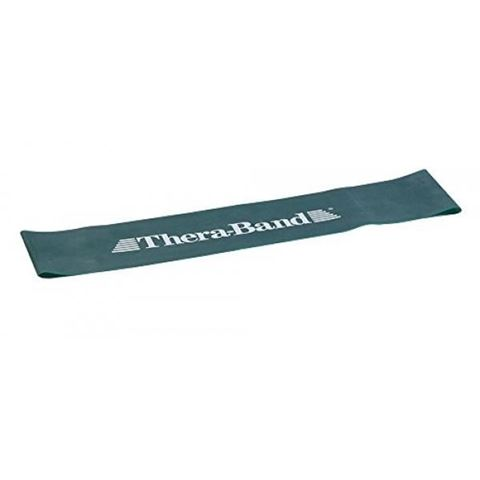 TheraBand Professional Resistance Mini Band, Κυκλική Θηλιά Heavy / Green 7,6 x 20,5 cm