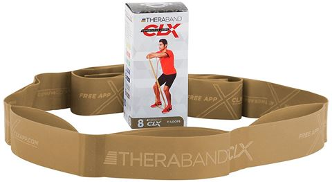 TheraBand CLX 11 Loops Individual - Gold / MAX (6.45kg)