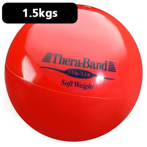 TheraBand Soft Weights 1,5 kg / Red