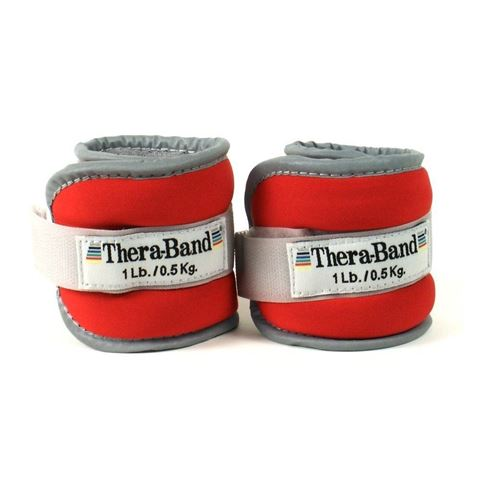 TheraBand Ankle Wrist Weight Sets Κόκκινα 0.45kg