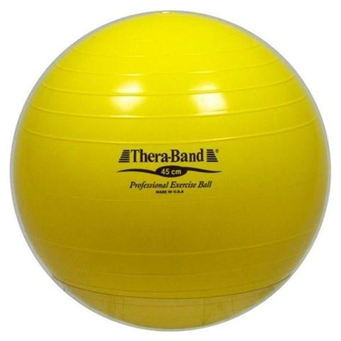 TheraBand Exercise Ball / Yellow Διάμετρος 45cm
