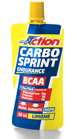 ProAction Carbo Sprint BCAA - Λεμόνι 50ml