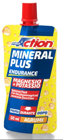ProAction Mineral Plus Magnesium & Potassium - Εσπεριδοειδή, 50ml