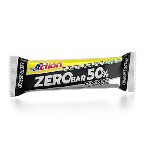 ProAction Zero Bar 50% - Σοκολάτα 60gr