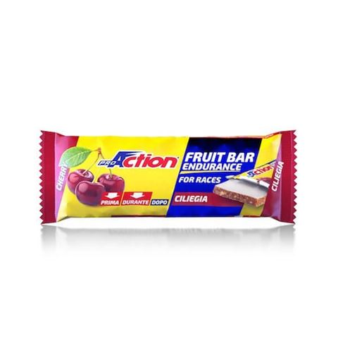 ProAction Fruit Bar - Κεράσι 40gr