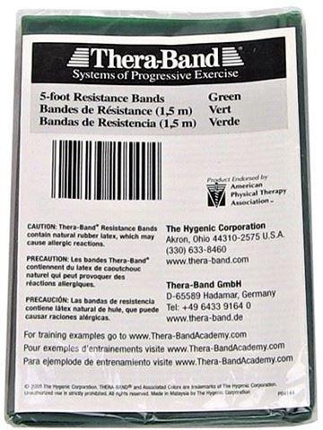 TheraBand Πράσινος / Heavy Ελαστικός Ιμάντας Αντίστασης 150cm