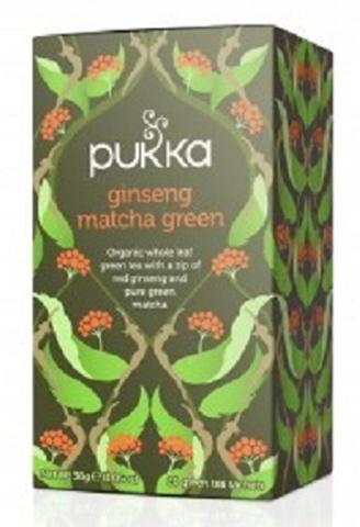 Pukka Ginseng Matcha Green 30gr