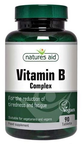 Natures Aid Vitamin B Complex - 90 Ταμπλέτες
