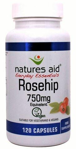 Natures Aid Rosehip 750mg - 120 Φυτικές Κάψουλες