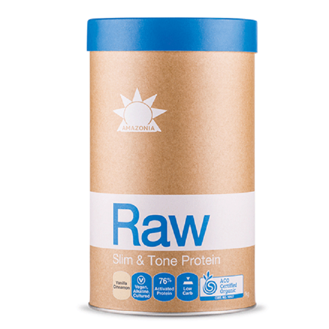 Amazonia Raw Protein Slim & Tone Βανίλια & Κανέλα 1kg