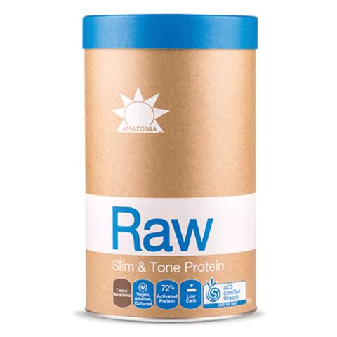 Amazonia Raw Protein Slim & Tone Κακάο & Μακαντέμια 1kg