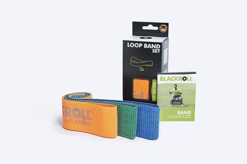 Blackroll LOOP Bands Set 32cm Πορτοκαλι-Πράσινο-Μπλε