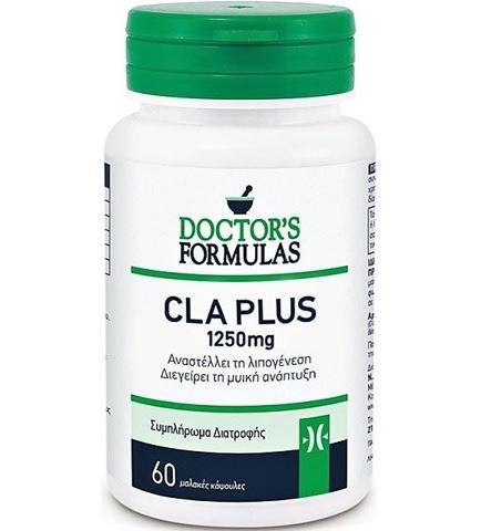 Doctor's Formulas Cla Plus 1250mg 60 Μαλακές Κάψουλες