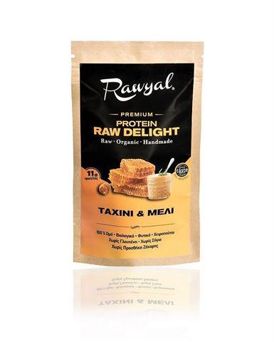 Rawyal Ωμό Σνακ Πρωτεϊνης Ταχίνι & Μέλι 44gr