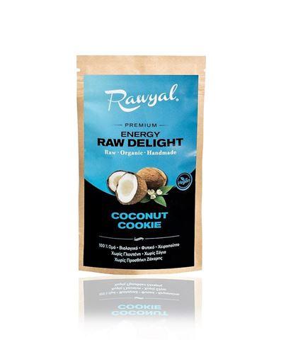 Rawyal Ωμό Σνακ Coconut Cookie 44gr