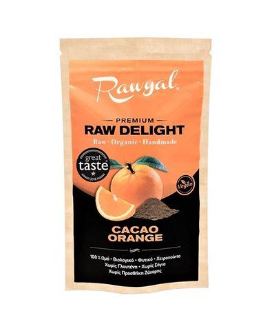 Rawyal Ωμό Σνακ Cacao Orange 44gr