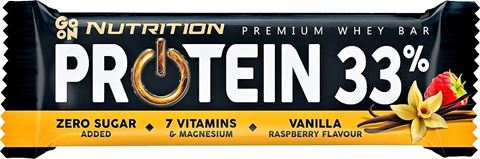 Go On Nutrition Protein 33% Vanilla & Rasberry 50gr