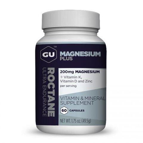 GU Roctane Magnesium Plus Μαγνήσιο 60 Κάψουλες