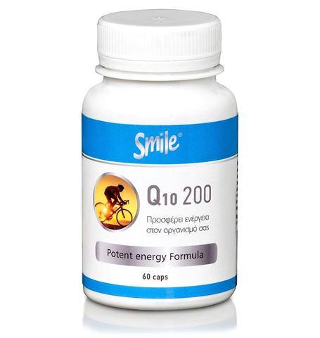 Smile Q10 200mg 60 Κάψουλες