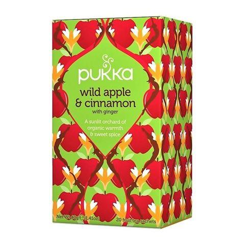 Pukka Wild Apple & Cinnamon 40gr