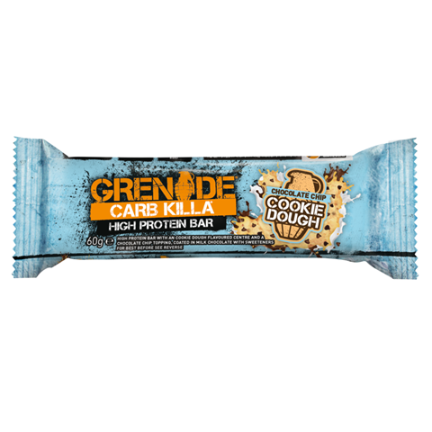 Grenade Carb Killa Μπάρες Υψηλής Πρωτεΐνης Cookie Dough, 60 γρ.