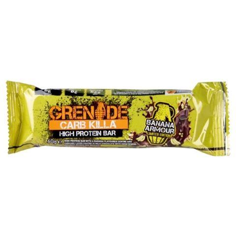 Grenade Carb Killa Μπάρες Υψηλής Πρωτεΐνης Banana Armour, 60 γρ.