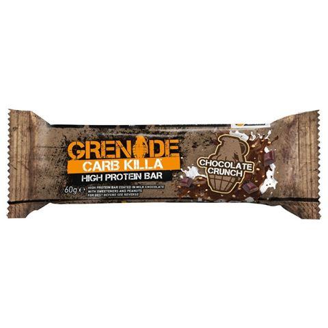 Grenade Carb Killa Μπάρες Υψηλής Πρωτεΐνης Chocolate Crunch, 60 γρ.