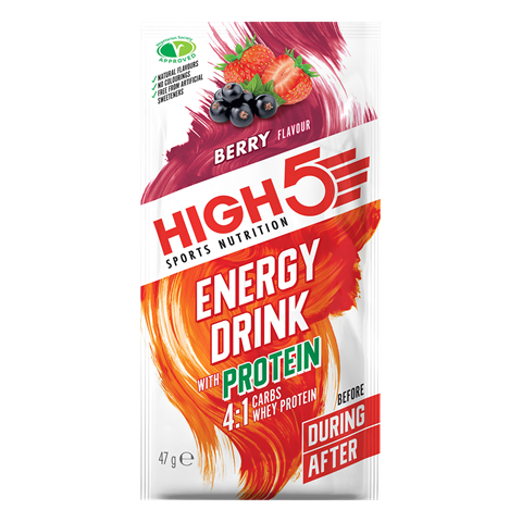 High5 Energy Drink W/protein 4:1 Berry 47g