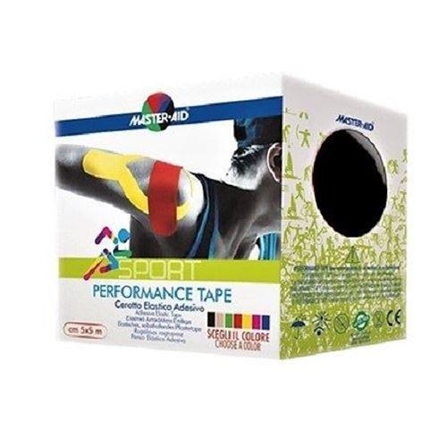 Master Aid Performance Kinesio Tape Black 5cm x 5m