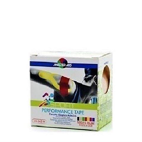 Master Aid Performance Kinesio Tape Yelow 5cm x 5m