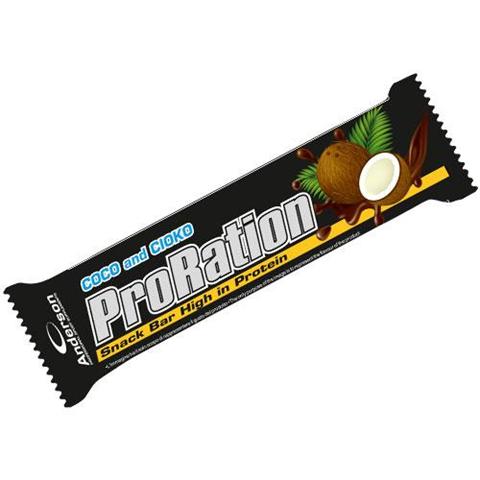Anderson ProRation Snack Bar High in Protein 29% Coco and Cioco 20389 45g