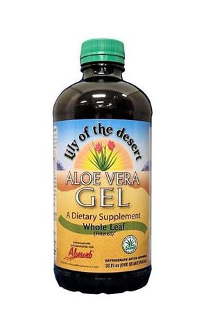 Lilly of the Dessert Aloe Vera Whole Leaf Gel, 946ml