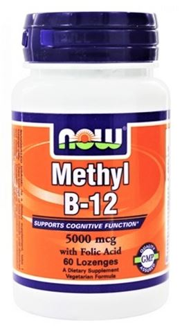 Now Foods Methyl B-12, 5000mcg, 100 Λειχώμενα Δισκία