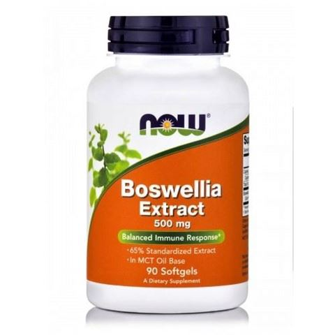 Now Foods Boswellia Extract 500 mg - 90 Μαλακές Κάψουλες
