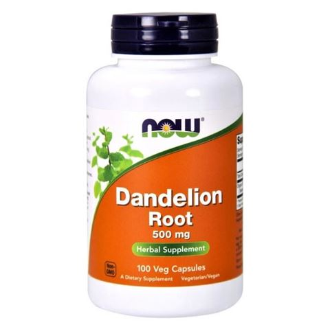 Now Foods Dandelion Root 500 mg - 100 Κάψουλες