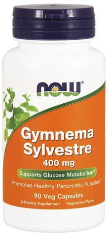 Now Foods Gymnema Silvestre 400 mg - 90 Φυτικές Κάψουλες