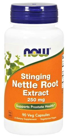 Now Foods Nettle Root Extract 250 mg - 90 Μαλακές Κάψουλες