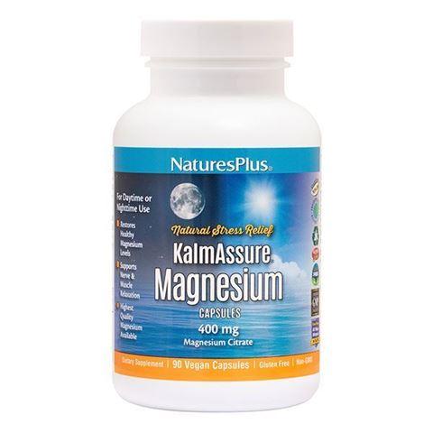 Nature's Plus Kalm Assure Magnesium, 90 Φυτικές Κάψουλες