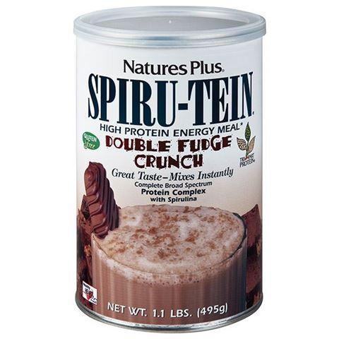 Nature's Plus Spiru-Tein Shake Double Funge Crunch, 495 gr