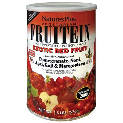 Nature's Plus Frutein Exotic Red Fruit, 576 gr