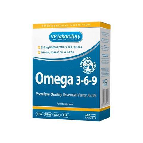 VP Laboratory Omega 3-6-9 60caps